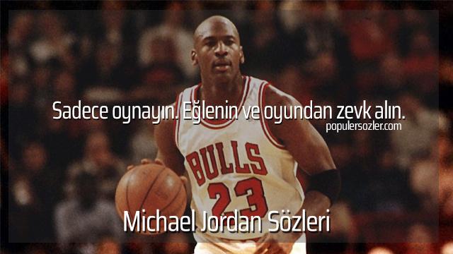 Michael Jordan Sözleri