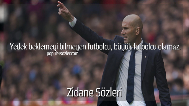 Zidane Sözleri